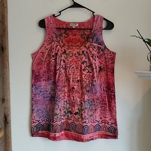 One World Boho Top M
